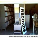 truck loads of vinyl!
